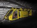 Operación de la locomotora minera LZH